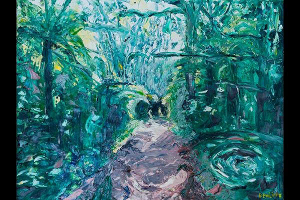 Chemin William Rappard, 60x80