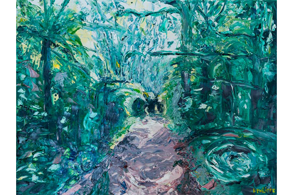Chemin William Rappard, 60x80