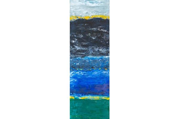 Lac Bleu, 75x25