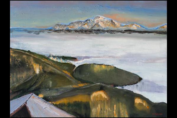 Descente de la Faucille, 60x80