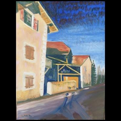 Ferme Constantin, 65x50