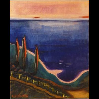 Mer d'Italie, 40x33