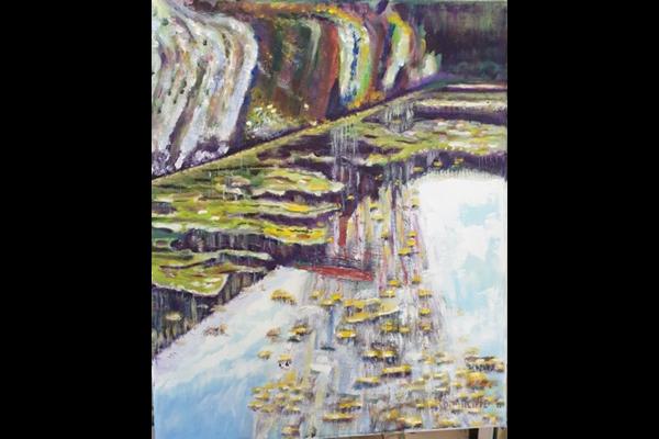 Port de la Bécassine, 65x50