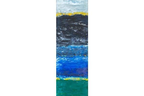Lac bleu, 25x75