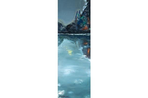 Lac noir, 120x20