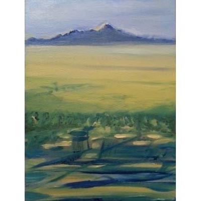 Mont bleu, 46x33