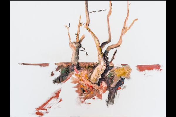 Étude Les Chênes, 60x80