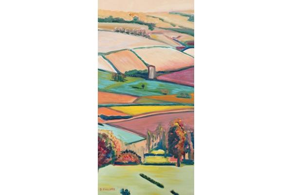 Coteau Beaujolais 02, 80x40