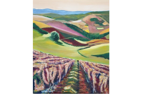 Mont Brouilly, 60x50