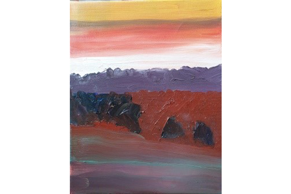Didier Philippe, Ombres Montantes, 25x20