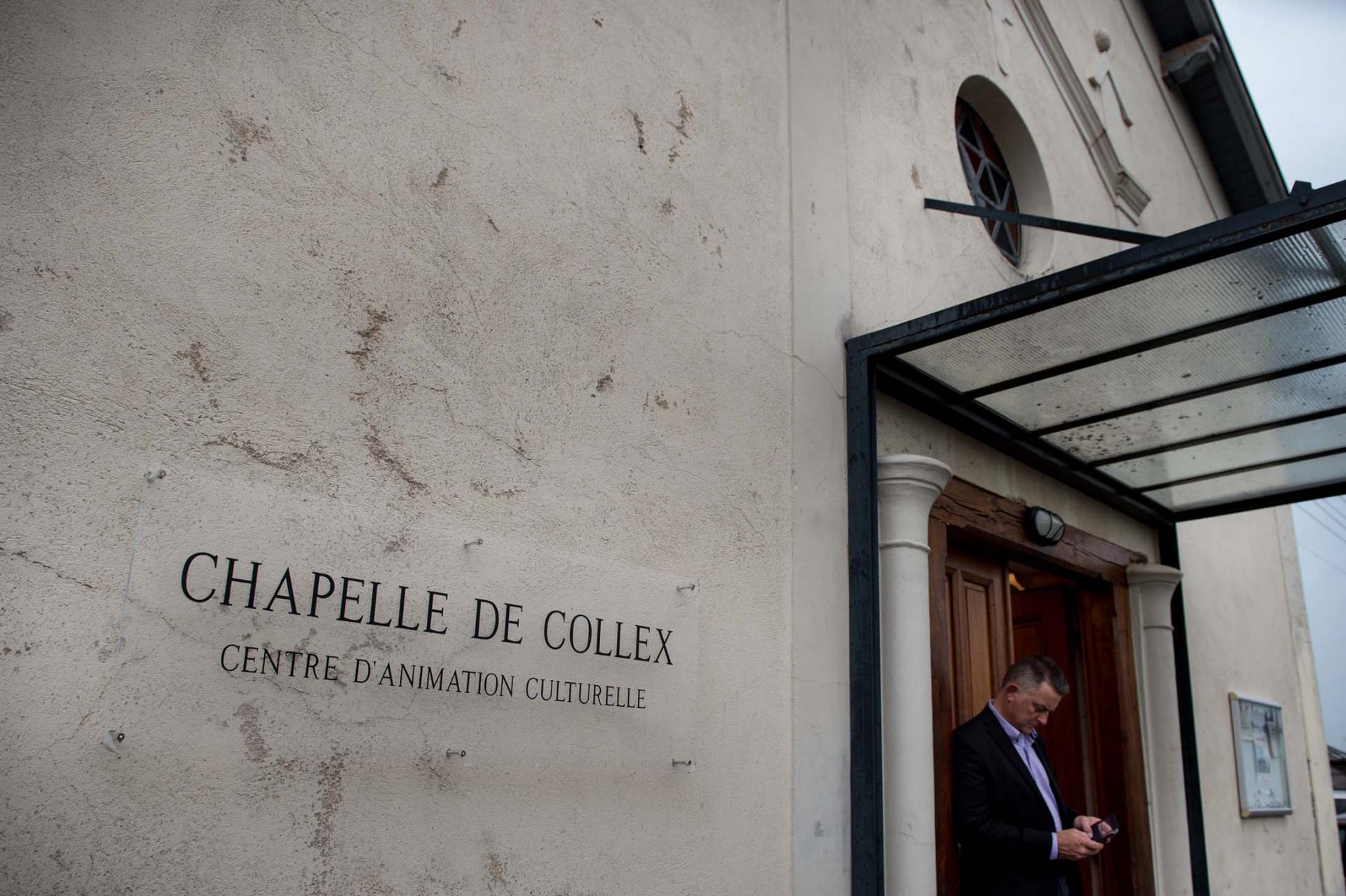 Chapelle de Collex, centre d'animation culturelle