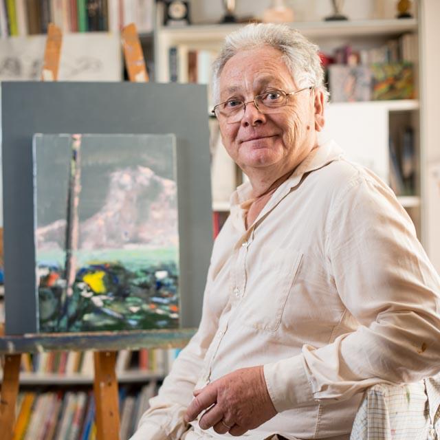 Didier Philippe dans son atelier